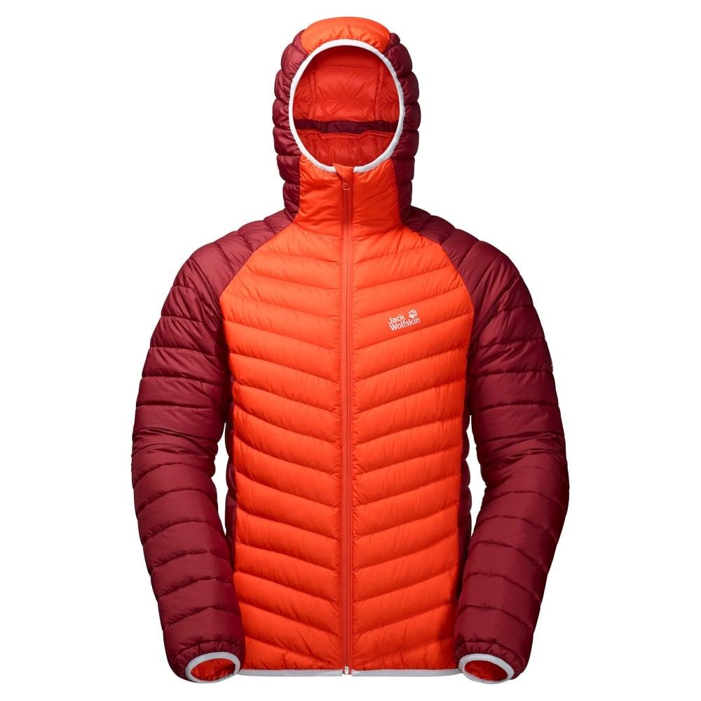 najtańszy duża obniżka świetne dopasowanie Mens Zenon Storm Jacket Lava Orange