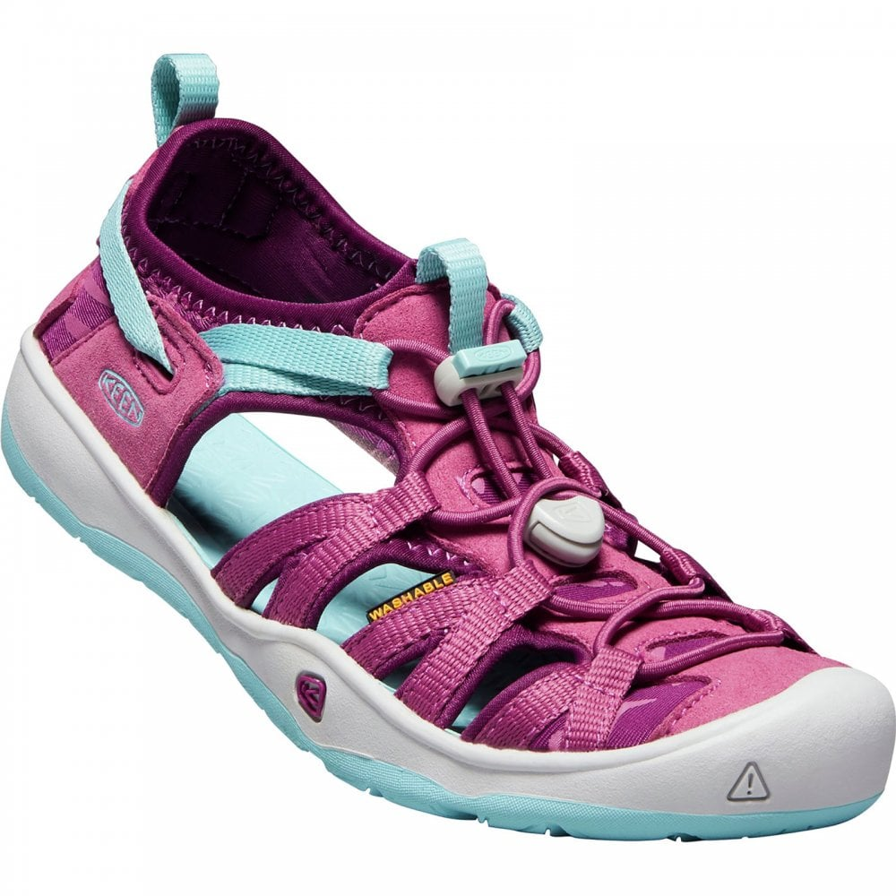 Keen Girls Moxie Sandal Red Violet - Footwear from Great Outdoors UK