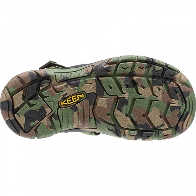 Keen Kids Newport H2 Sandal Crushed Bronze Green - Footwear from ... 7e715a214