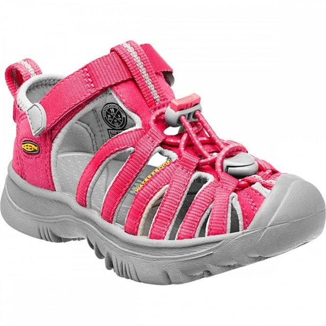 5134d3b35ded Keen Kids Whisper Sandal Honeysuckle - Footwear from Great Outdoors UK