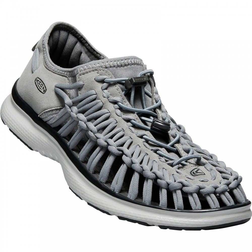 5c103b5a0f6b Keen Mens Uneek O2 Sandal Steel Grey - Footwear from Great Outdoors UK