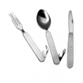 Knife,Fork,Spoon - Folding (With Pouch)