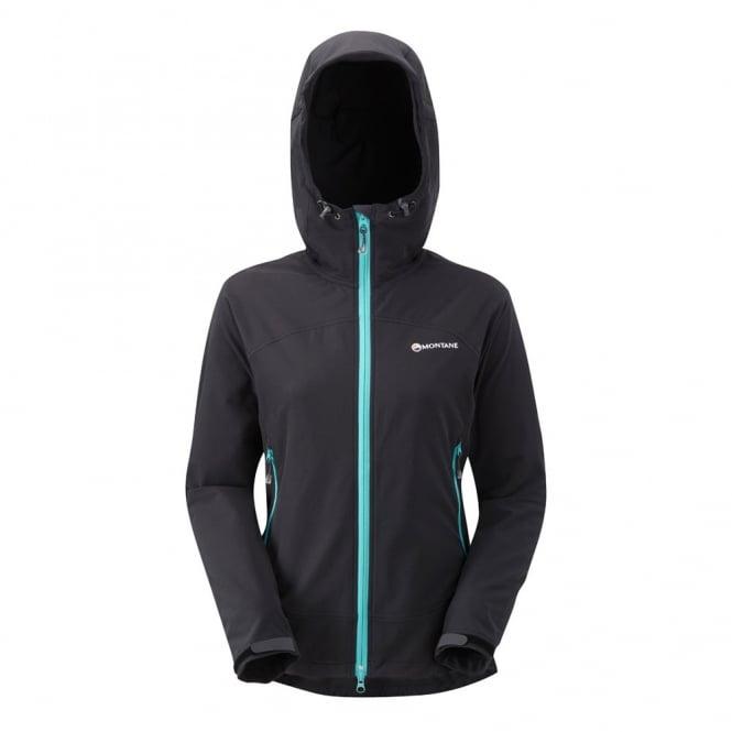 132b6c6aa3e Montane Ladies Alpine Stretch Jacket Black Peacock