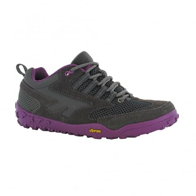 Hi-Tec Ladies Apollo Shoe - Charcoal - Footwear from Great Outdoors UK 2f2177068