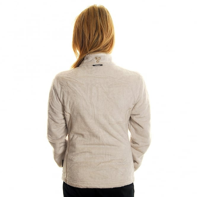 Ivory Jacket Asylum Wolfskin Fleece Ladies Soft Jack clK3uFJT1