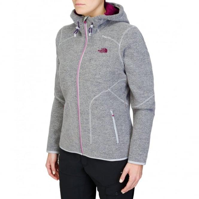 953724c53 The North Face Ladies Zermatt Full Zip Hoodie Dapple Grey Heather