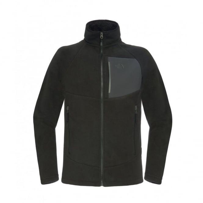 The North Face Men s TNF Black Asphalt Grey Chimborazo Hoodie Jacket 328a1c894645