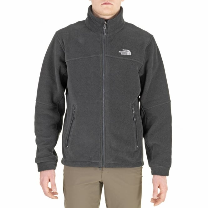 143df240d The North Face Mens Genesis Fleece Jacket, Asphalt Grey
