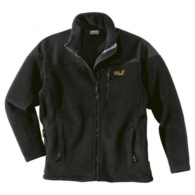 brand new 11761 68366 Jack Wolfskin Mens Khumbu Fleece Jacket Black