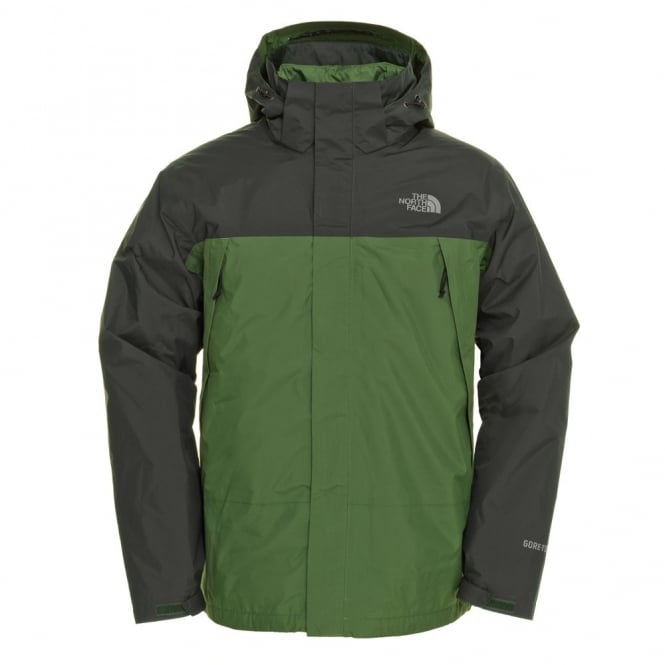 36469e32fc The North Face Mens Mountain Light Triclimate 3in1 Jacket in Green ...