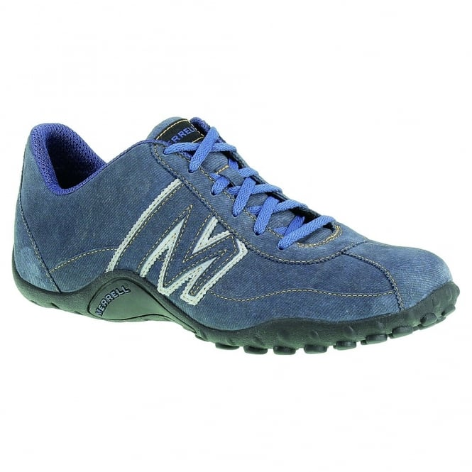 san francisco retail prices professional design Merrell Mens Sprint Blast Suede Shoe Indigo