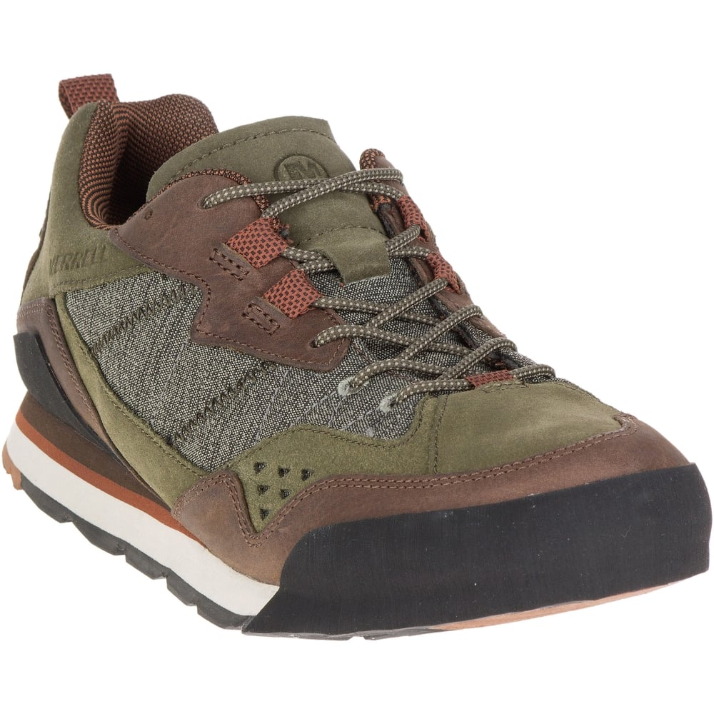 6e93897fee53e Merrell Burnt Rock M Shoe - D.Olive - Footwear from Great Outdoors UK