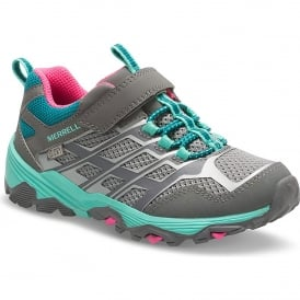 Kids Moab FST Shoe Grey/Multi
