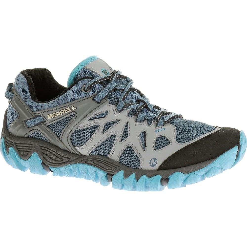 modern techniques hot products buying now Ladies All Out Blaze Aero Sport Shoe Blue Heaven