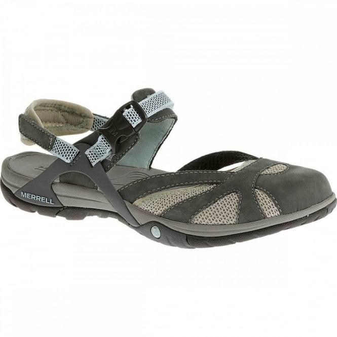 Merrell Ladies Azura Wrap Sandal Grey Footwear From