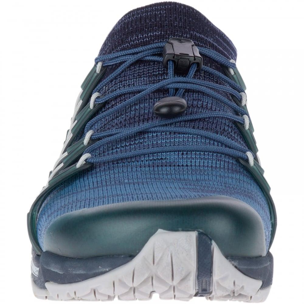 Ladies Bare Access Flex Knit Shoe Navy