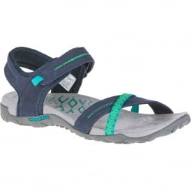 Ladies Terran Cross II Sandal Navy