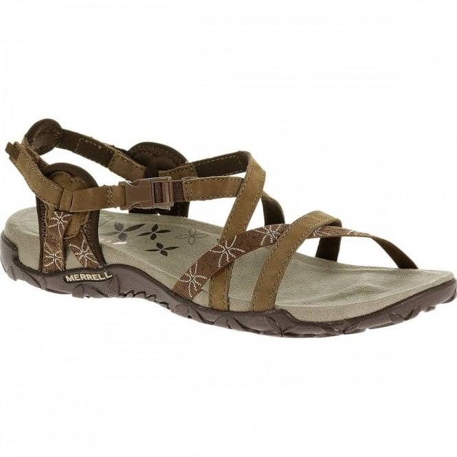 8ae73c14d58c Merrell Ladies Terran Lattice Sandal Dark Earth - Footwear from ...