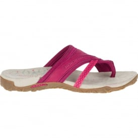 Ladies Terran Post II Sandal Fuchsia