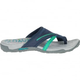 Ladies Terran Post II Sandal Navy