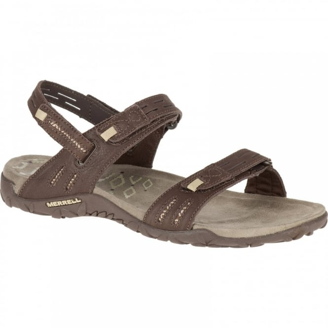 bab0dac32740 Merrell Ladies Terran Strap II Sandal Dark Earth - Footwear from ...