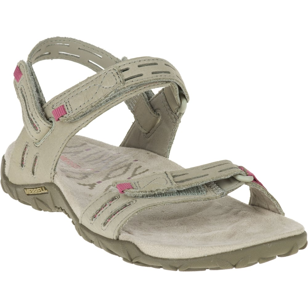 740efca26a49 Merrell Ladies Terran Strap II Sandal Taupe - Footwear from Great ...