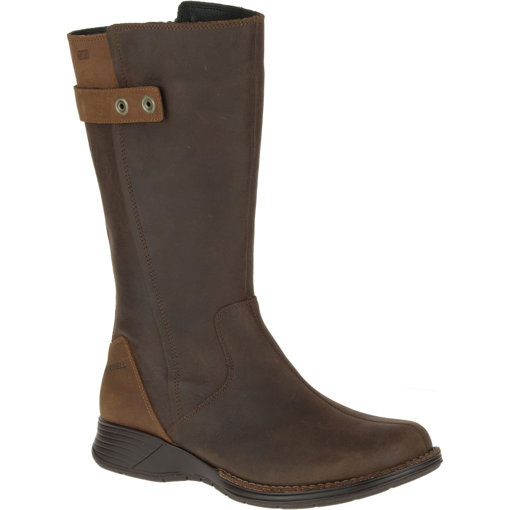 a695fa06aa Merrell Ladies Travvy Tall Boot Clay - Footwear from Great Outdoors UK