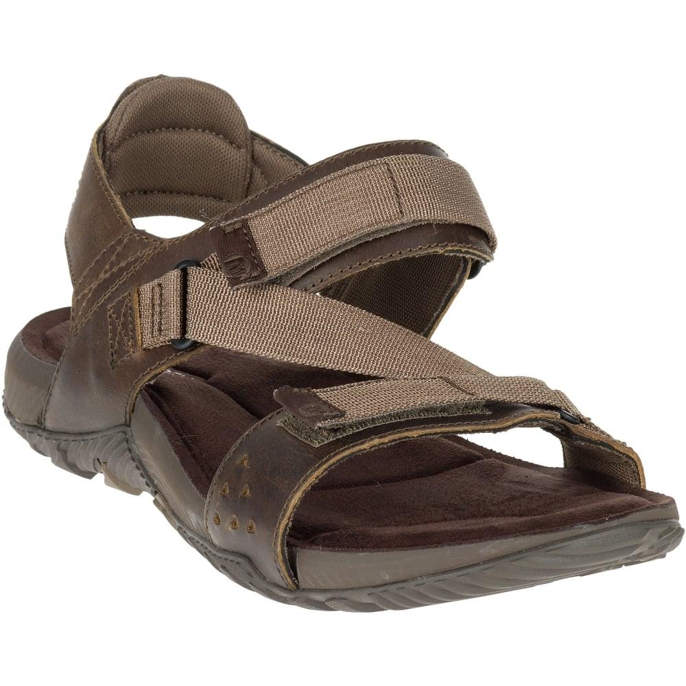 4d4d445a9b68 Merrell Mens Terrant Strap Sandal Dark Earth - Footwear from Great Outdoors  UK