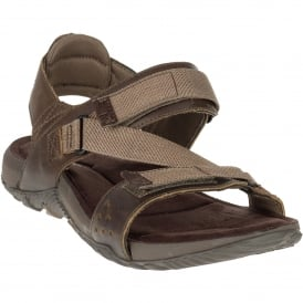 Mens Terrant Strap Sandal Dark Earth