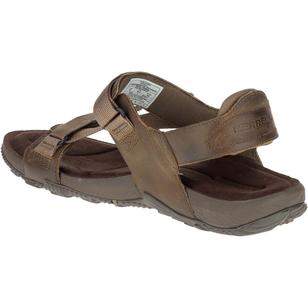 a5b00f235ca41 Merrell Mens Terrant Strap Sandal Dark Earth - Footwear from Great ...
