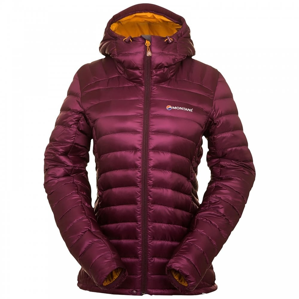 1f4f552d9a3 Montane Ladies Featherlite Down Jacket Saskatoon Berry - Ladies from ...