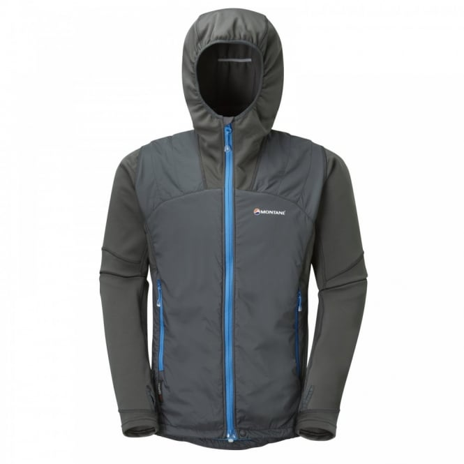 Montane Mens Alpha Guide Jacket Shadow/Blue Spark