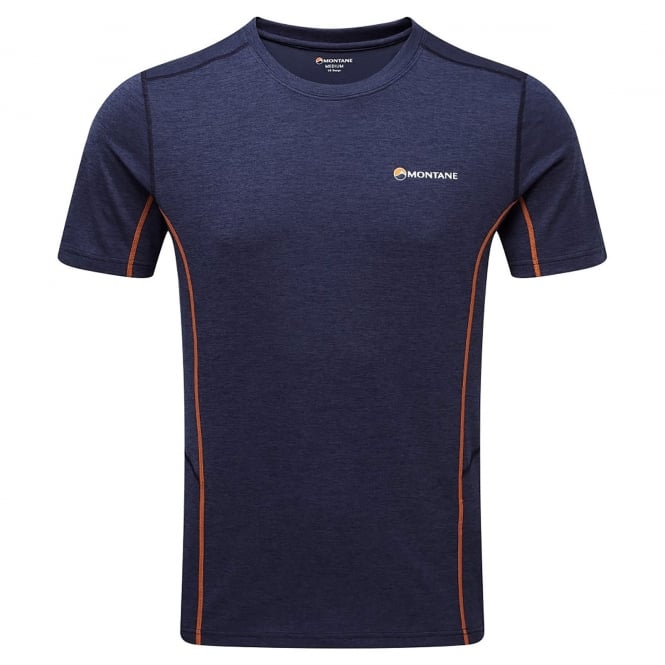 Montane Mens Dart T-Shirt Antarctic Blue