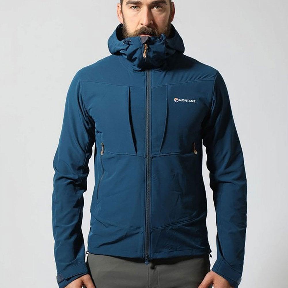 Montane Men/'s Dyno XT Soft Shell Jacket Black