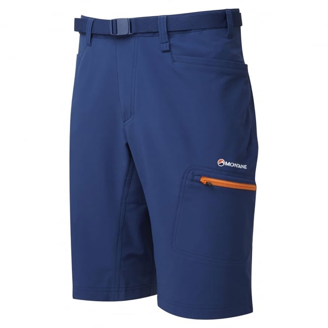 Montane Mens Dyno Stretch Shorts Antartic Blue