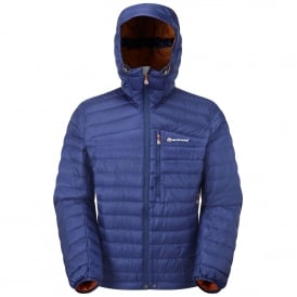 Mens Featherlite Down Jacket Antartic Blue