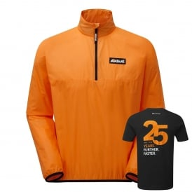 Mens Featherlite Smock Ltd Ed Mango