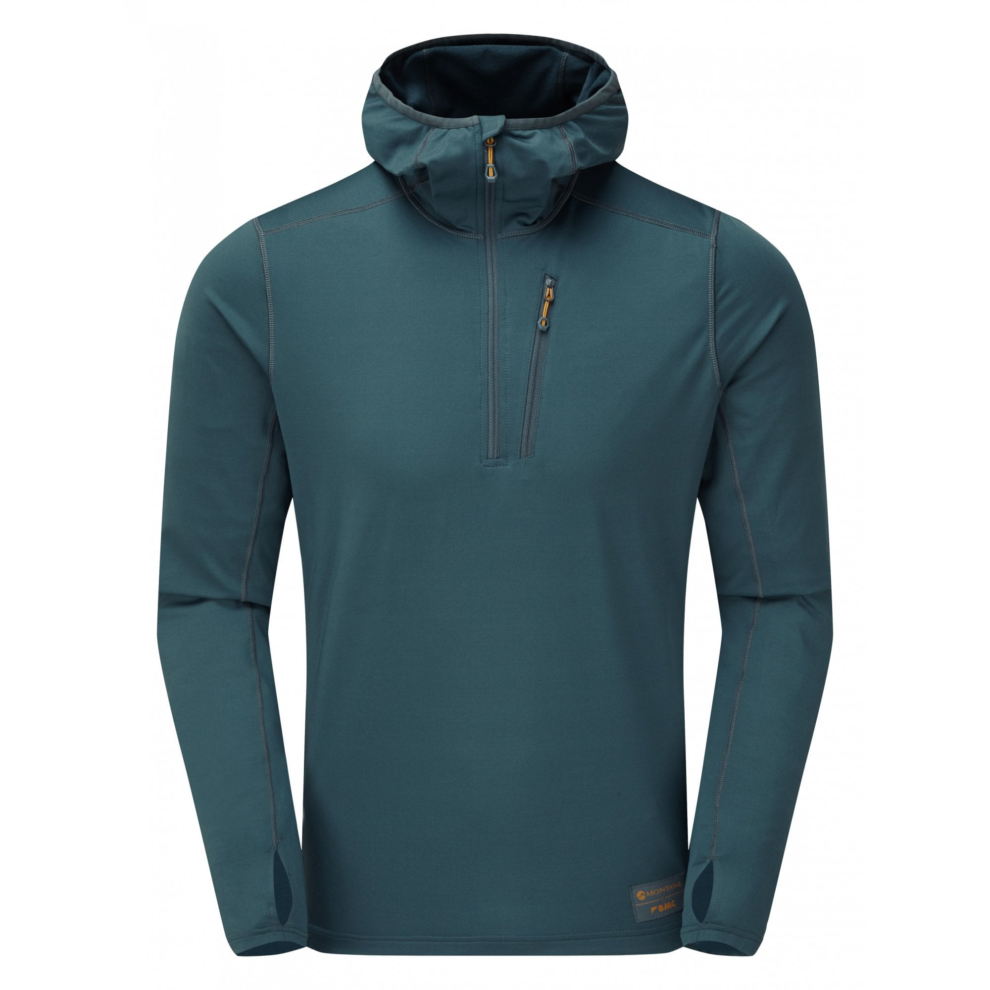 Lightweight stretchy climbing top SALES SAMPLE Montane Jam Hoodie Pull-On