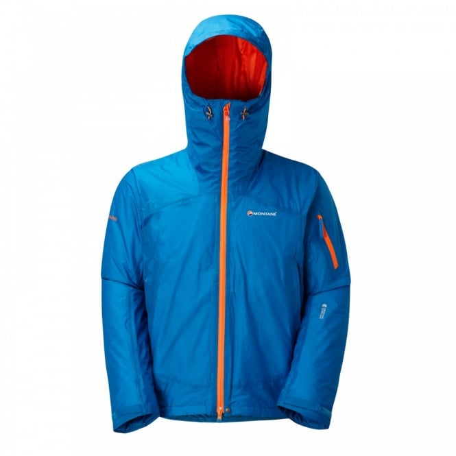 03ebdcf8b Montane Mens Minimus Hybrid Insulated Jacket Electric Blue - Mens ...