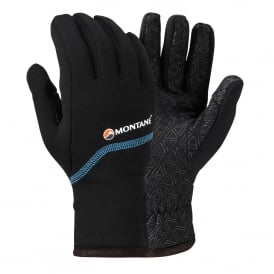 Mens Power Stretch Pro Grippy Glove Black
