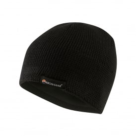 Mens Resolute Beanie Black