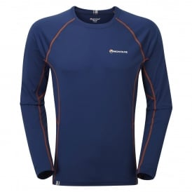 Mens Sonic Long Sleeve T-Shirt Antarctic