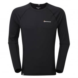 Mens Sonic Long Sleeve T-Shirt Black