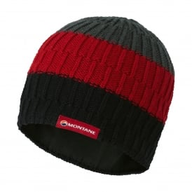 Mens Windjammer Halo Beanie Black