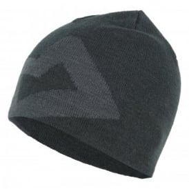 Branded Knitted Beanie Raven