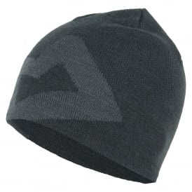 Mens Branded Knitted Beanie Raven
