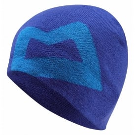 Mens Branded Knitted Beanie Sodalite Blue
