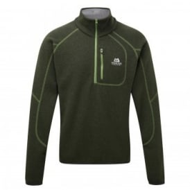 Mens Chamonix Zip Fleece Broadleaf