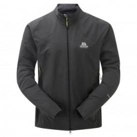 Mens Frontier Softshell Jacket Raven