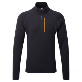 Mens Integrity Zip Fleece Tee Cosmos